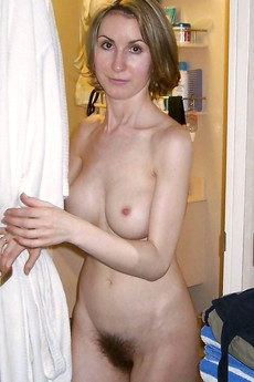 Real amateur women washes in shower..